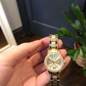 Brand New Gold Fossil Watch